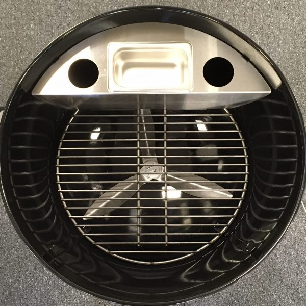 smokenator 1000 smoker kit for weber 22 inch charcoal. Black Bedroom Furniture Sets. Home Design Ideas