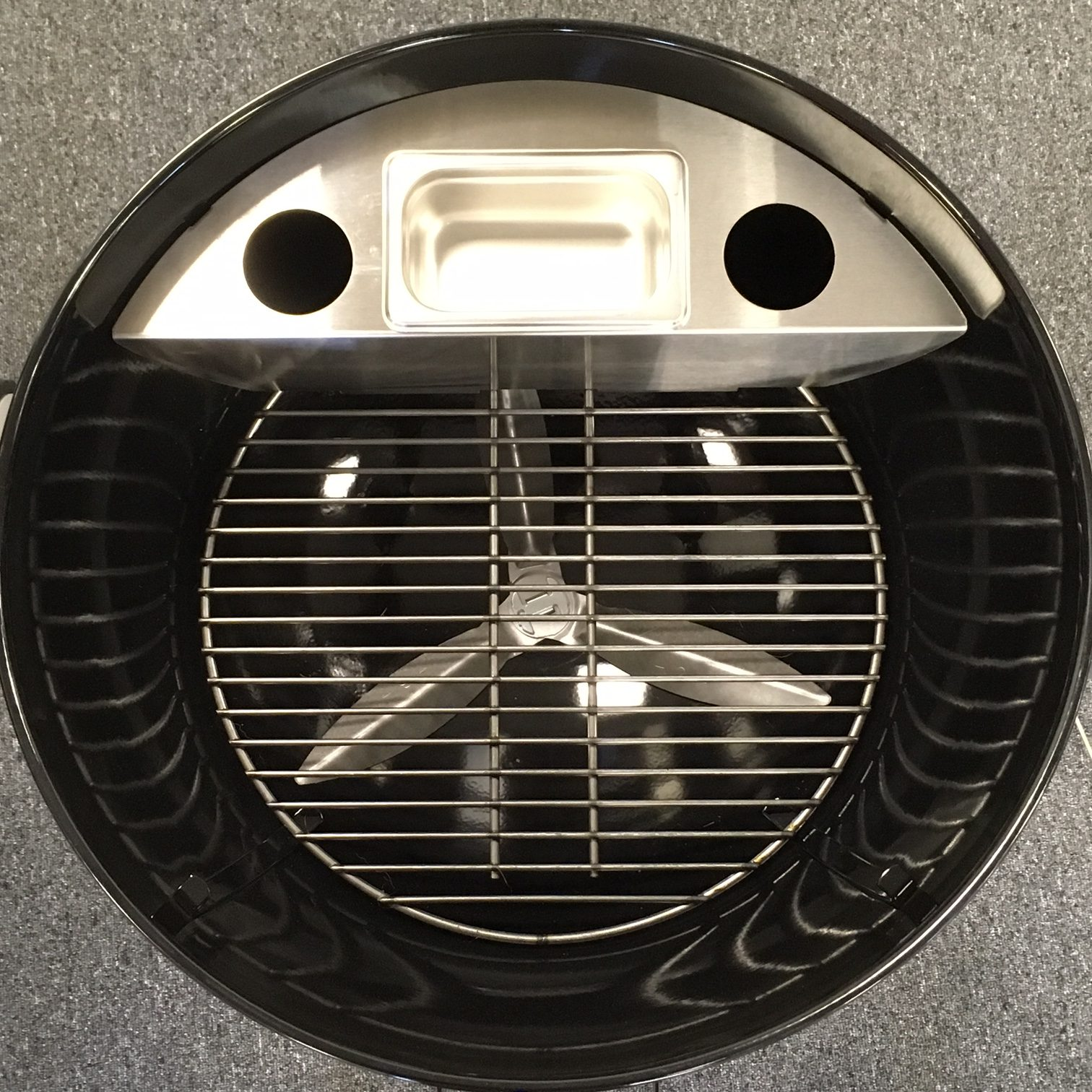 smokenator 1000 smoker kit for weber 22 inch charcoal grills smokenator. Black Bedroom Furniture Sets. Home Design Ideas